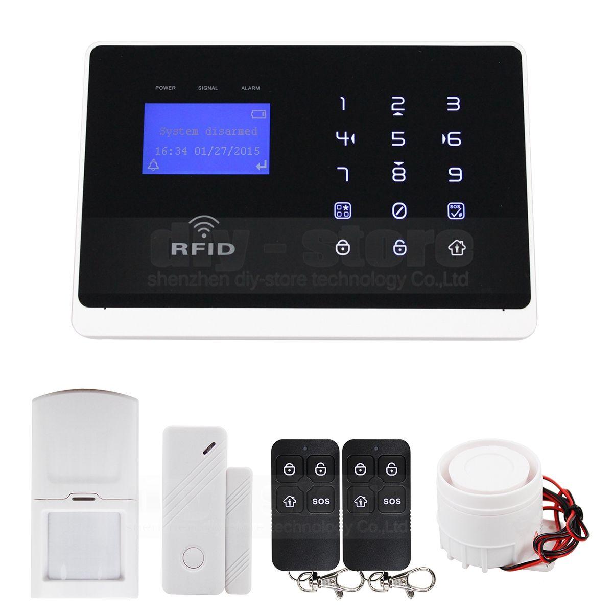 Wireless & Wired 433mhz Defense Zones Gsm Pir Sensor Door Sensor ...