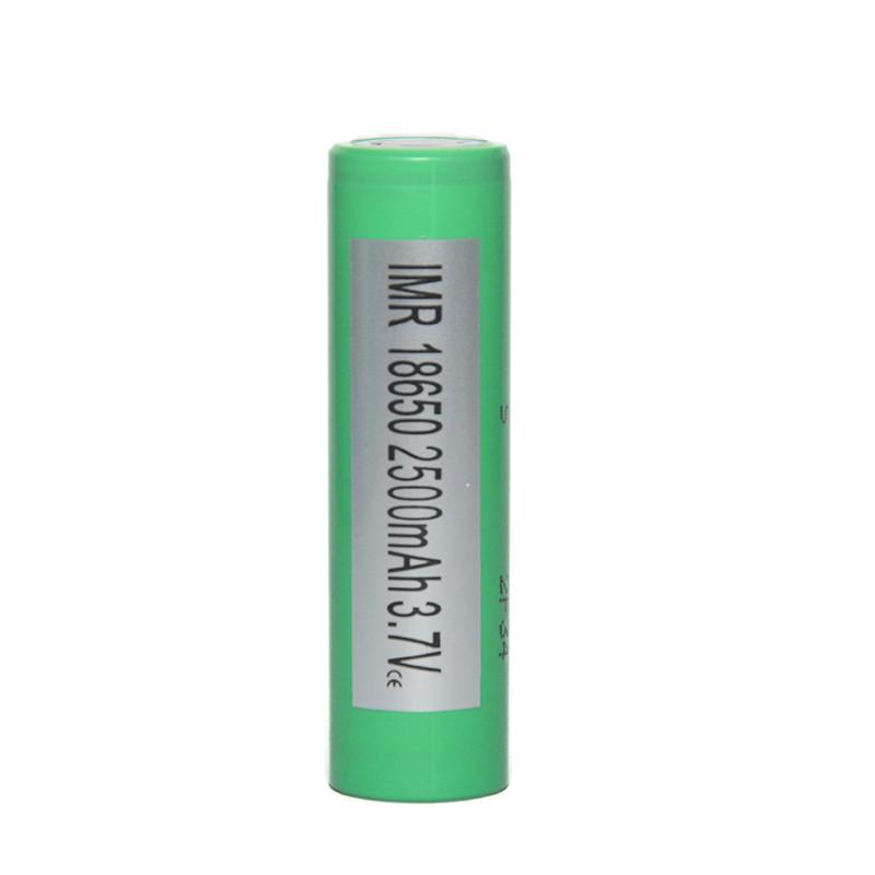 Auténtica batería INR18650 25R 2500mAh 20A 3.7V 18650 Batería de alto drenaje Batería de litio 22P 25R Batería 20A Envío gratuito.