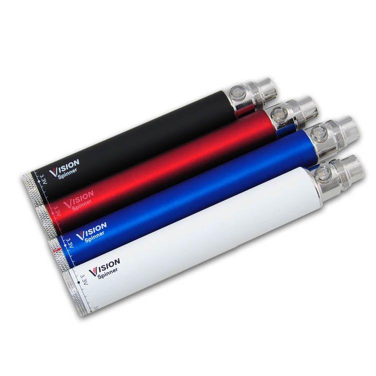 Vision Spinner evod twist sigaretta elettronica ego c twist vape batteria 650 900 1100 1300 mah Variabile Voltage 3.3-4.8 V penna vaporizzatore