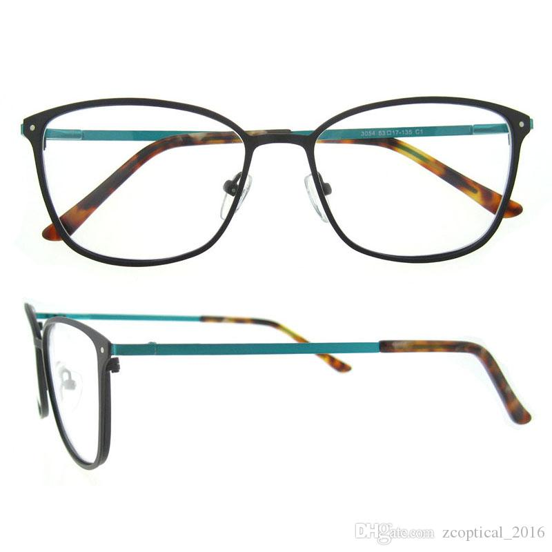 New Arrival Full Rim Oval Superfine And Light Weight Metal Frame ...