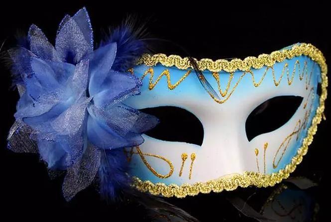Moda Feminina Máscara Sexy Máscara de Olho Máscara de Halloween Hallowmas masquerade máscaras com pena de flor máscara de Páscoa festa de dança férias máscara transporte da gota