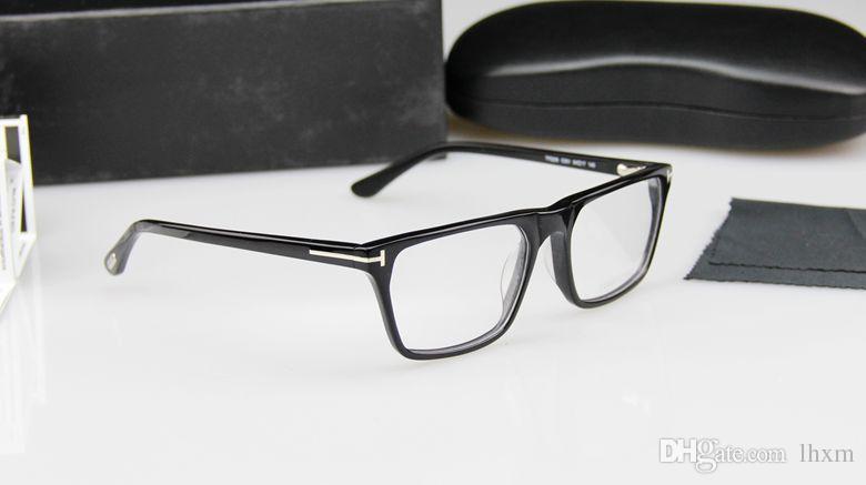 Óculos de marca quente quadro T F 5295 designers famosos projetar os homens e mulheres armações de óculos ópticos