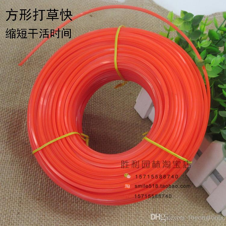 1.6 to 3.0 mm diamemter 0.5LB Nylon line for brush cutter about 70M length Grass Trimmer Line free shipping