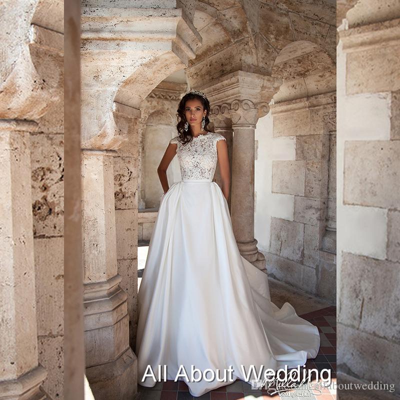 Lace Grecian Wedding Dress