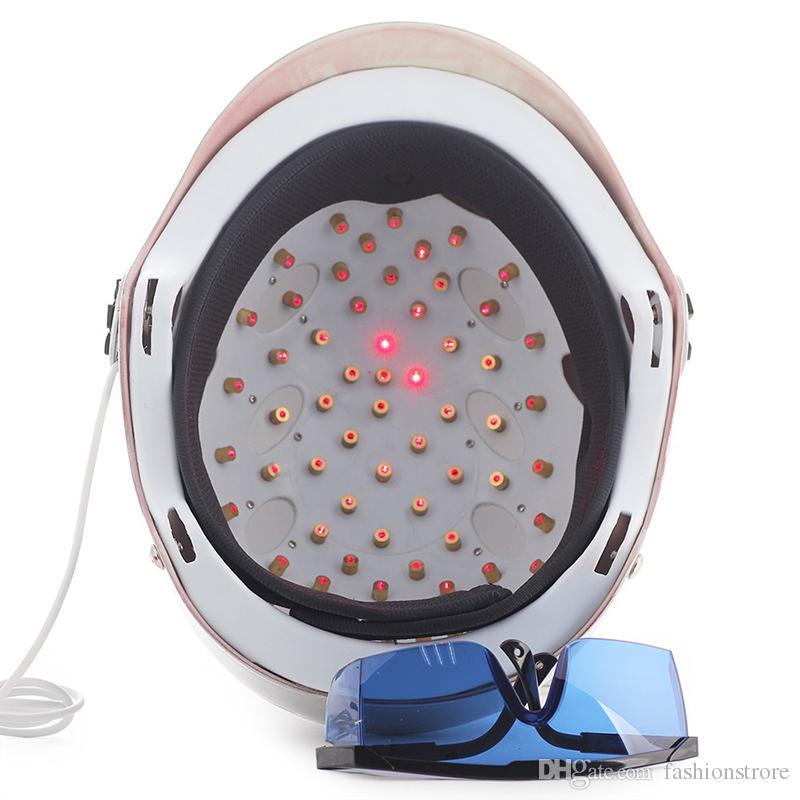 Date Laser Regrowth Casque 650nm Diode laser croissance des cheveux anti perte de cheveux traitement tête masseur capuchon lunettes de protection des yeux