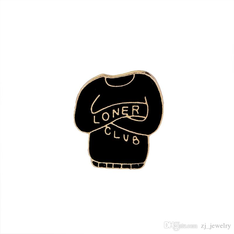 Vintage Jewelry Evil Hard Enamel Pins Punk Skeleton Skull Palm Totem Introvert Soler Broche Solapa Pin Button Clothes Bag Insignias