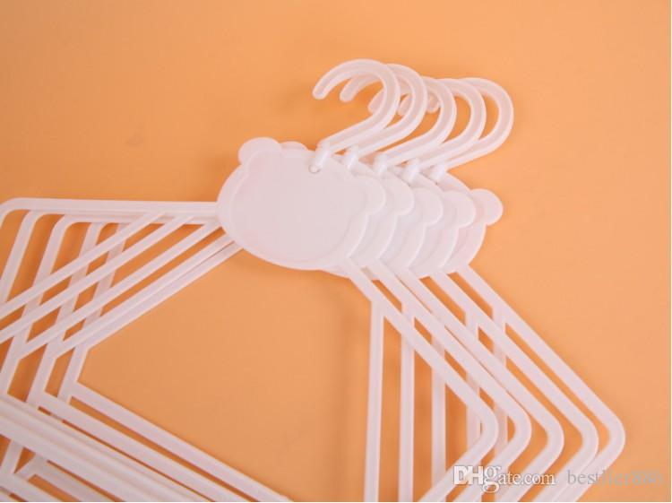 Hot Sale Plastic Hangers for Clothes Children Kids Clothes Pegs Swimwear Trousers Pants Laundry Drying Rack Baby Hangers WE