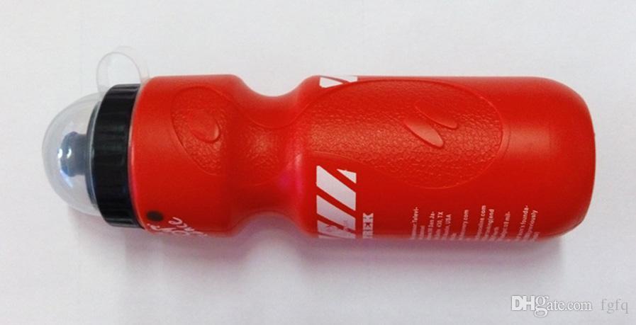Neue Ankunft 650 ML Tragbare Outdoor Fahrrad Radfahren Camping Wandern Sport Trinken Krug Sport PVC Kunststoff Wasserflasche