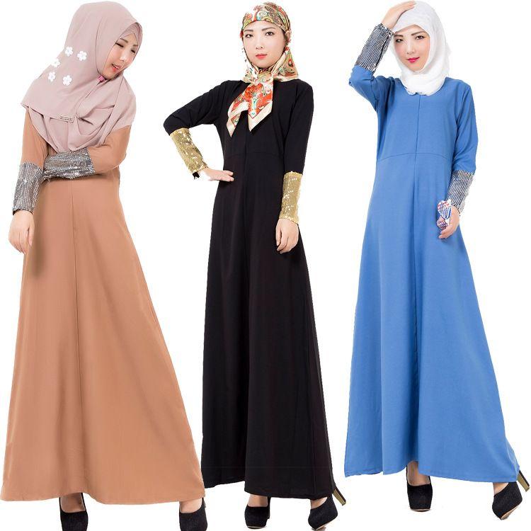 2017 027# Arab Robes Turkey Middle East Kuwait Muslim Women'S ...