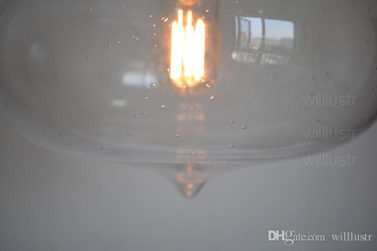 Art Deco suspensão luz sala de jantar sala de estudo Minaret bolha pingente de luz do vintage sombra de vidro da lâmpada do hotel iluminação do restaurante