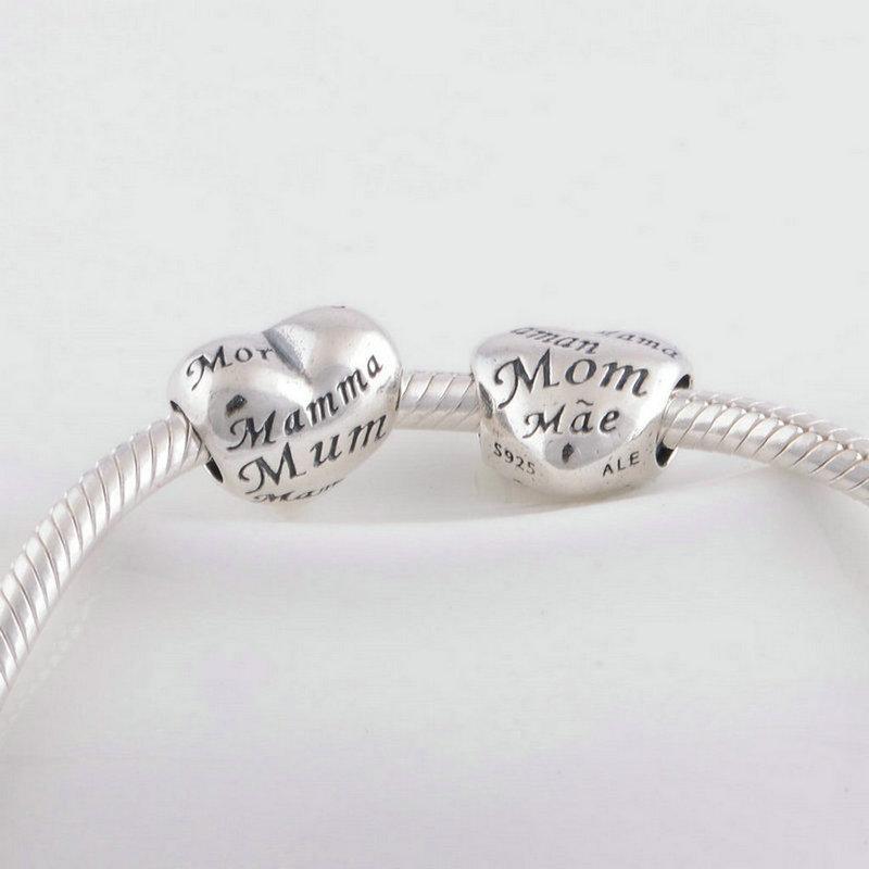 Mama Charms Authenic S925 Sterling Silber Floating passt Original-Armband-Aushöhlen 791112