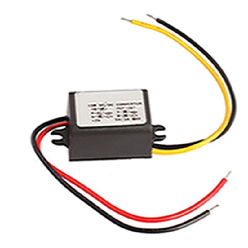 12V To 5V 3A 15W Power Inverter Charger DC Voltage Regulator Converter  Transformer Power Supply free shipping