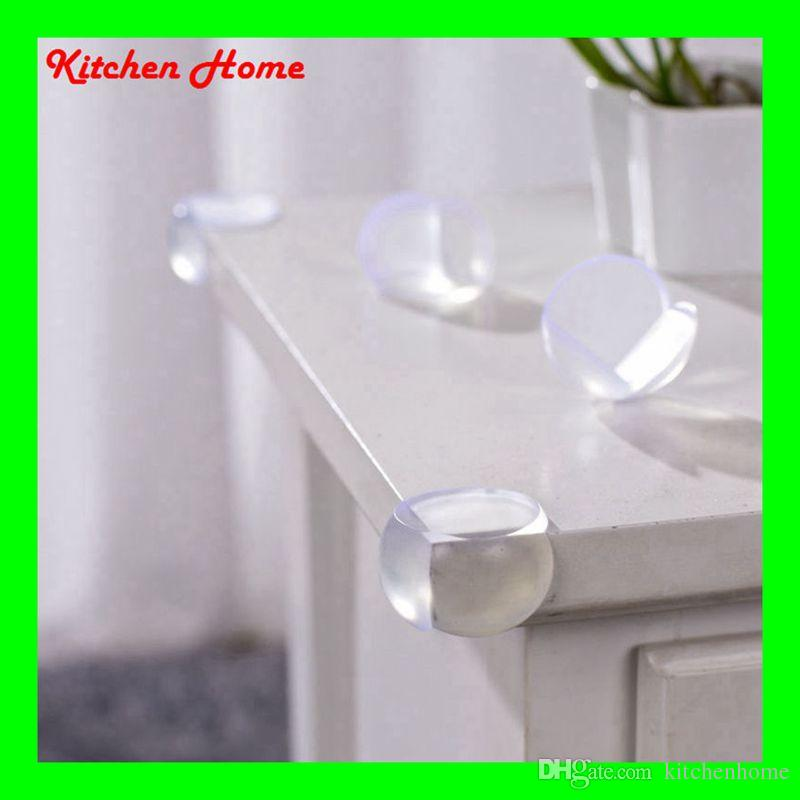 2018 Transparent Corner Protectors Corner Cushions For Glass Tables Or  Shelves With 3m Sticker Baby Safe From Kitchenhome, $0.21 | Dhgate.Com