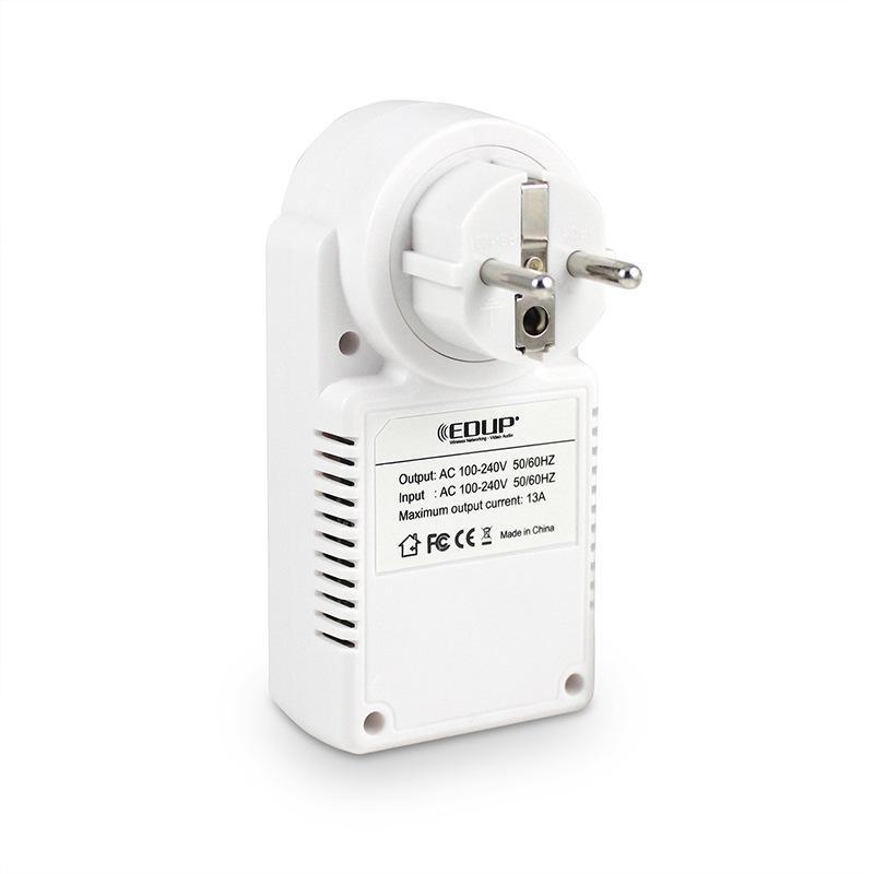 EDUP EP-3703 برنامج تطبيق مجاني مأخذ توصيل ذكي الولايات المتحدة / الاتحاد الأوروبي التوصيل اللاسلكي Wifi Remote Switch Wifi Remote Control Power Socket