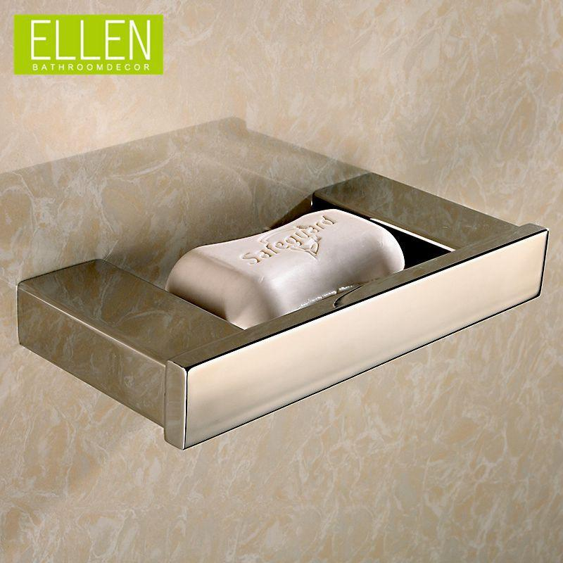 2018 Bathroom Stainless Steel Soap Dish Wall Mounted Bath Soap Holder  Square Bathroom Accessories From Fast_kk, $78.8 | Dhgate.Com