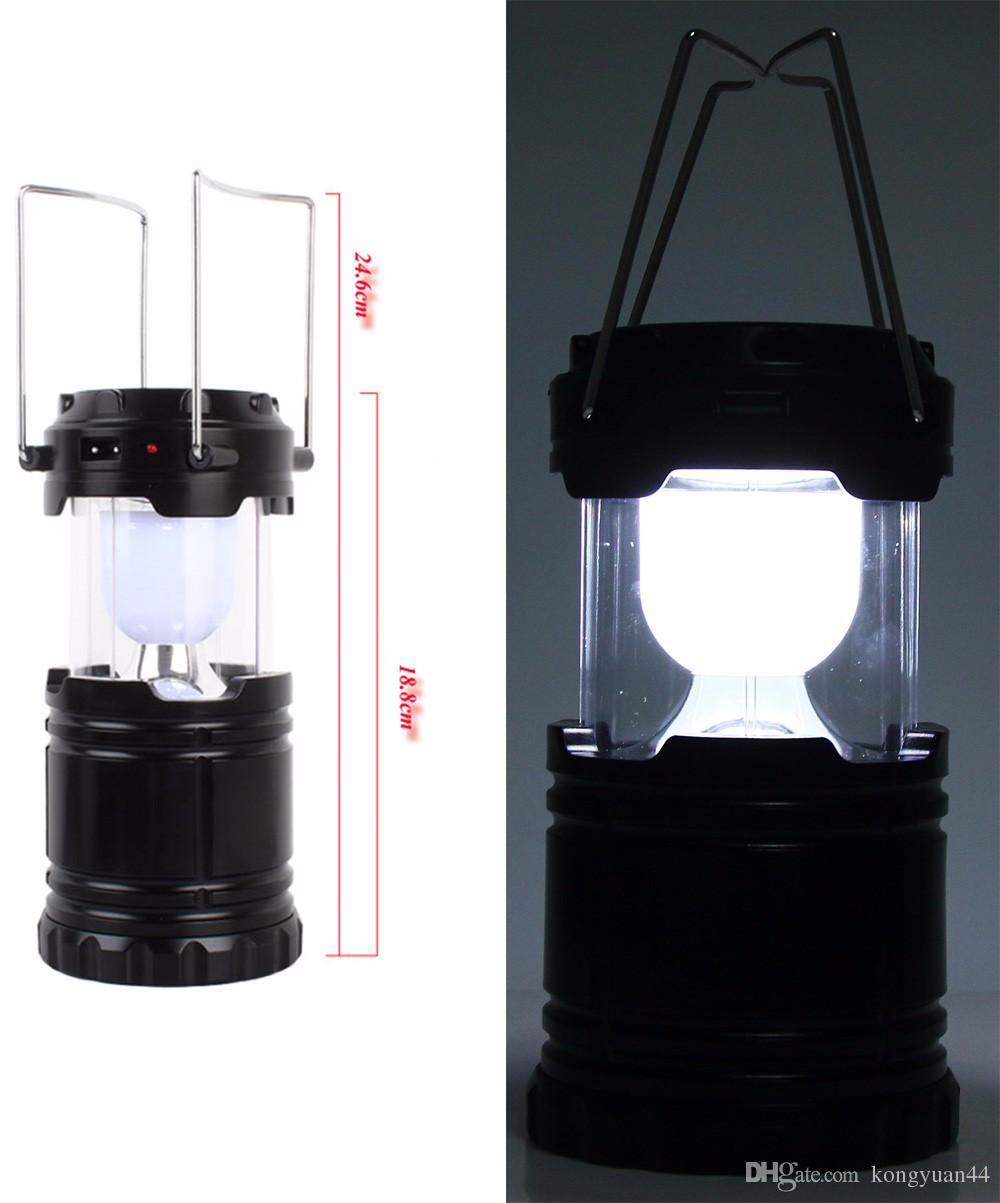 6-светодиодная ручная лампа портативный солнечный фонарь для кемпинга светодиодный фонарик фонарик для велоспорта палатка огни для наружного освещения походы USB перезарядки