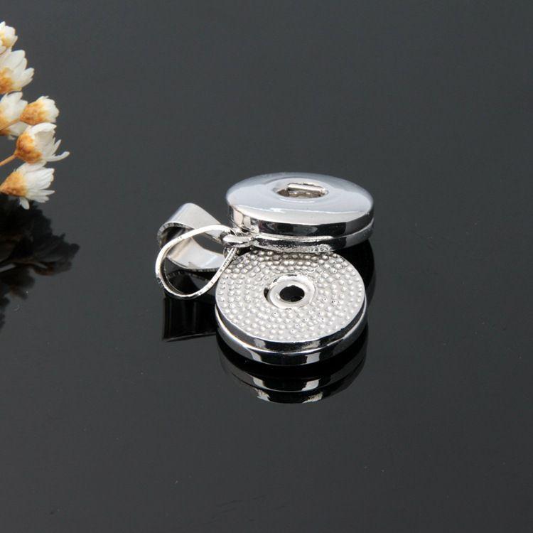 12mm 18mm Noosa Snap Düğmesi alaşım charms Kolye Kolye ve bilezikler için DIY Takı Aksesuar Değiştirilebilir Zencefil Yapış