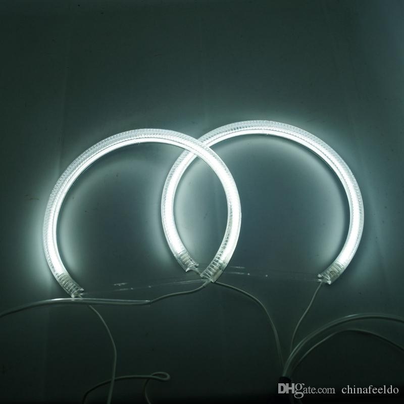 LEEWA Car CCFL Angel Eyes Light Halo Rings Kits Headlight For Toyota Camry 03-06projector/07 #4842