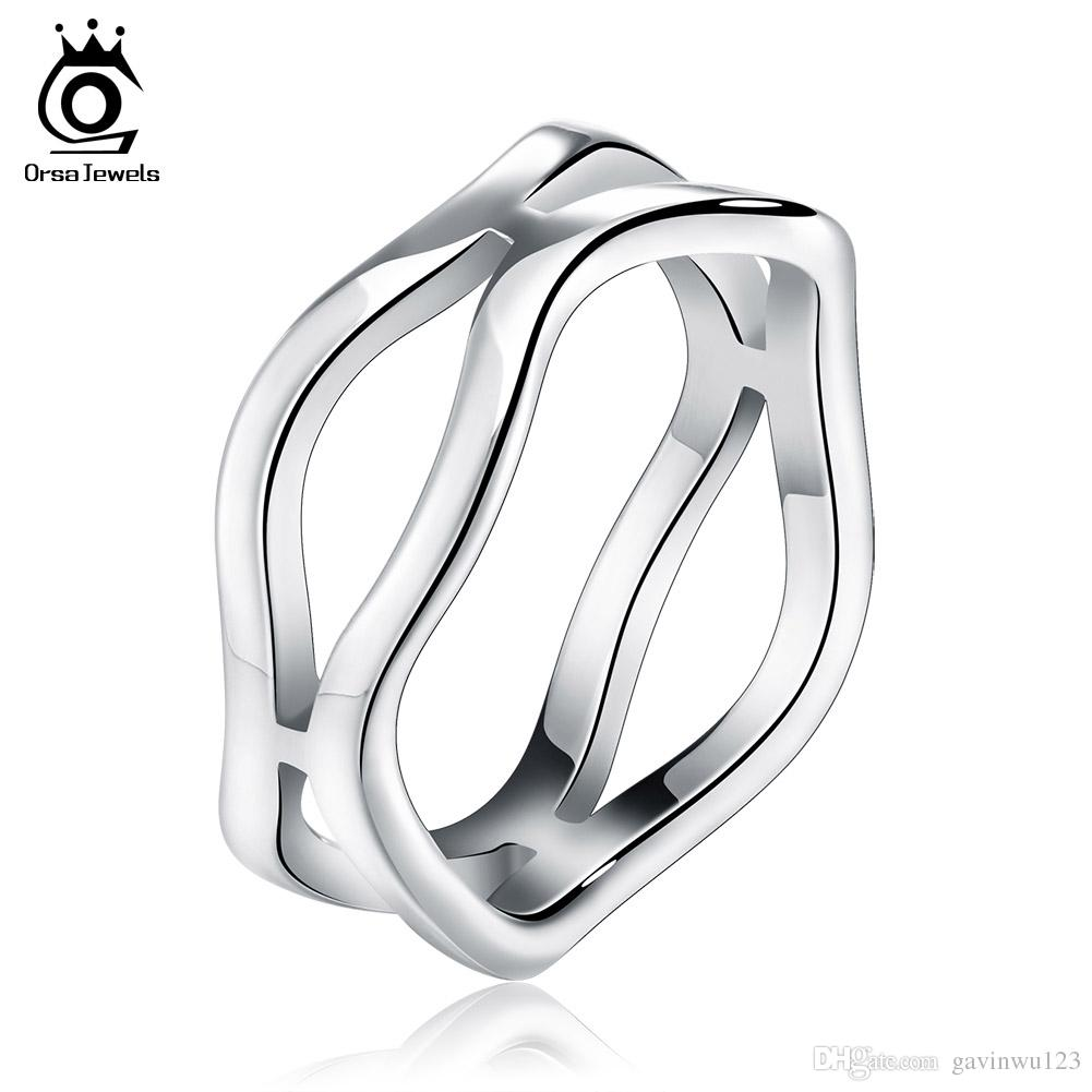 silver addiction wedding s eve sterling twisted cz set ring rings