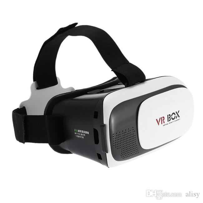 Head-Mounted Virtual Reality 3D Video Movie Game Glasses 3D VR Glass For iPhone Android Mobile Phone Cinema NEW