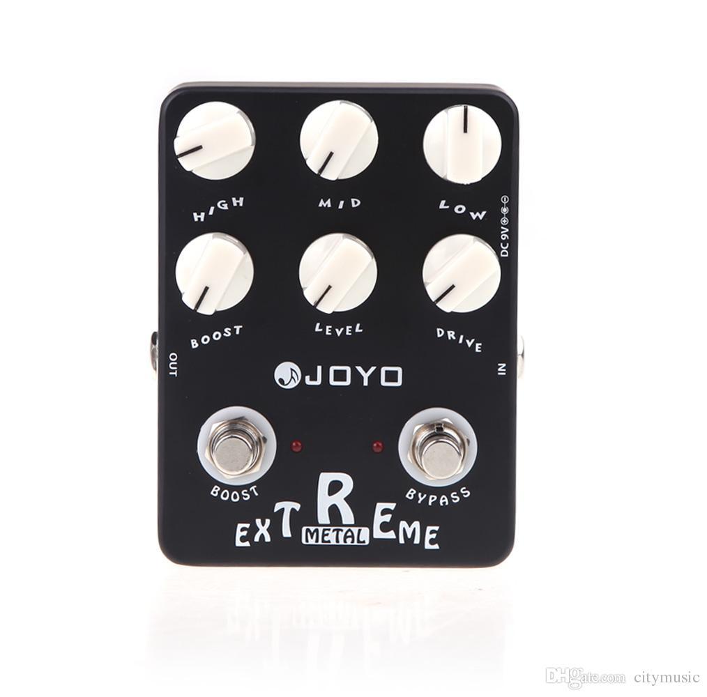 Müzik Aletleri Elektronik 2014 Yeni Black JOYO JF-17 Guitarra Violao Gitar Efekt Pedal Parçaları Extreme Metal Bozulma