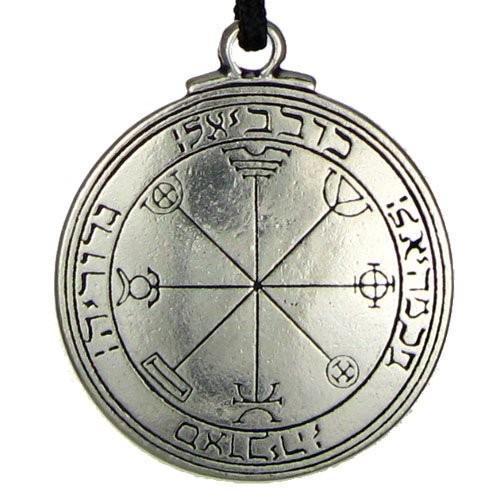 New Punk Amulet pendant Pentacle of Mercury Talisman Key of Solomon Seal Pendant Hermetic Enochian Kabbalah Pagan Wiccan Jewelry