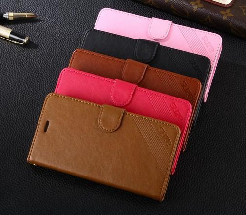 멋진 화웨이 명예 4A 케이스의 경우 다채로운 다채로운 지갑 플립 커버 귀여운 울트라 - 얇은 슬림 럭셔리 가죽 케이스 화웨이 명예 4A Y6