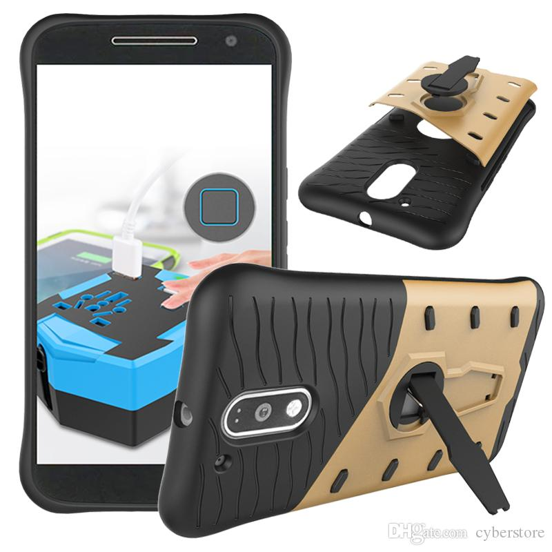 For LG K10 K7 Moto G4 Plus / Play 360 Rotating Slim Hybrid Armor Case  PC+TPU Hard Cover Motorola Z Droid Huawei Honor 5C Hybrid Case Armor Case  Online with ...