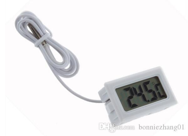 NOUVEAU LCD thermomètre numérique Aquarium congélateur température intérieure compteur station météorologique outil extérieur Météo diagnostic