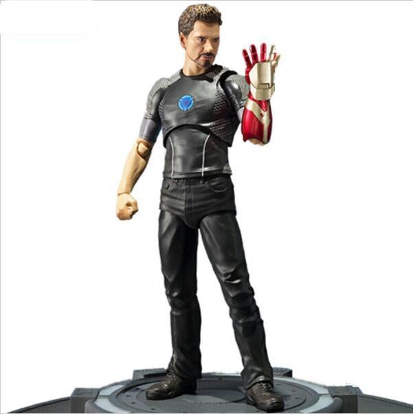 New Iron Man 3 Tony Stark Tony's Powered Stage Toy Action Figure Model Gift