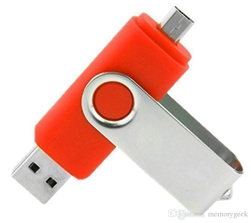 2020 Flash Drive de memoria Flash Drive para Android ISO Smartphones Tablets pendrives U disco de 64 GB 128 GB 256 GB Thumbdrives OTG USB externo