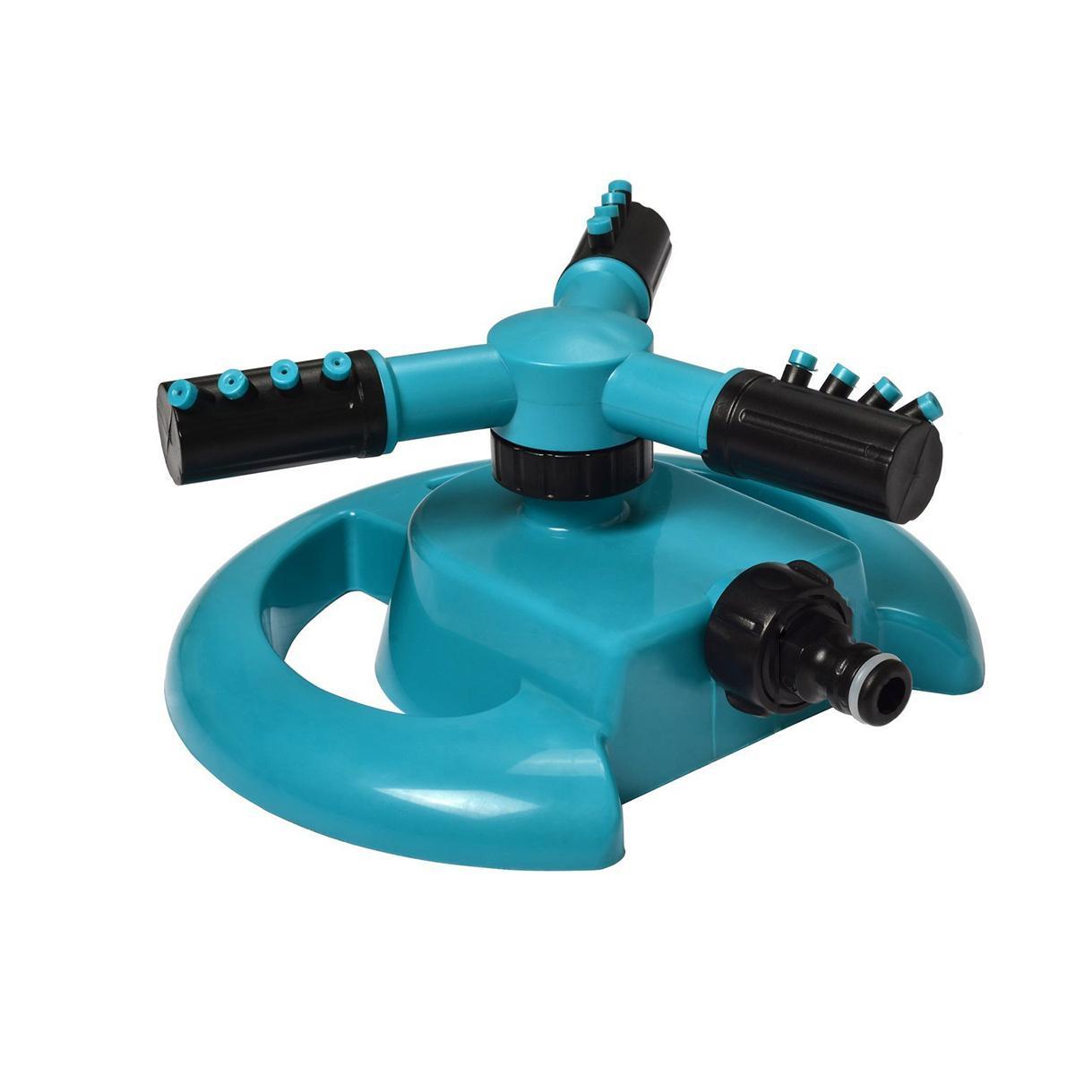 Garden Sprinklers Water Durable Rotary Three Arm Water Sprinkler 360 ...
