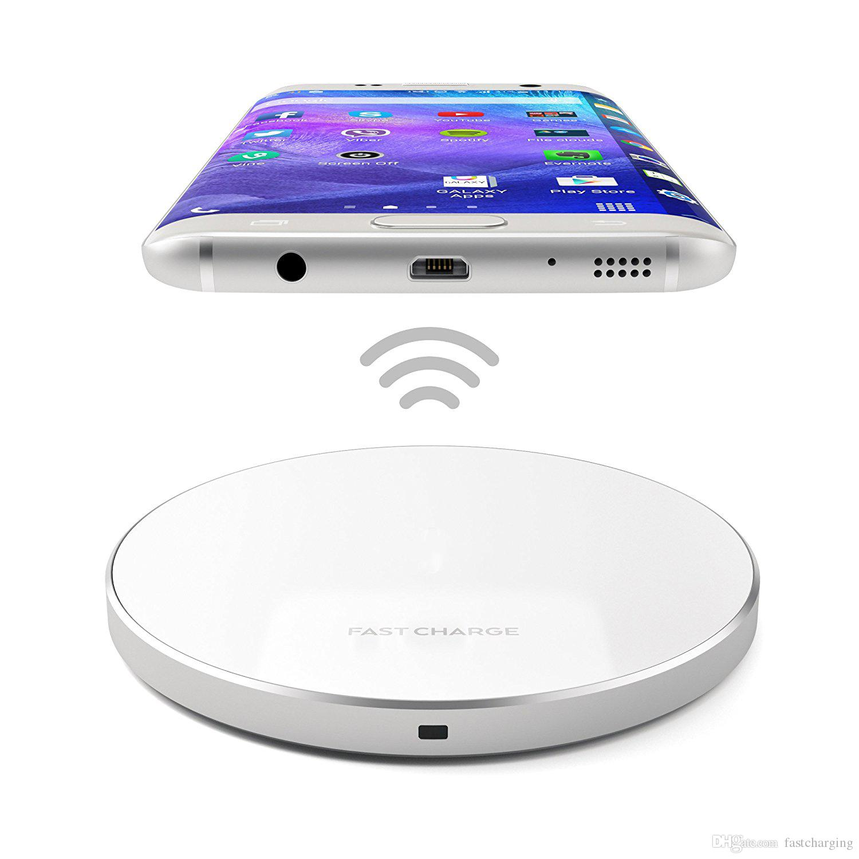 chargeur mobile chargeur sans fil charge rapide charge pour iphone 8 samsung s8 qi chargeur sans. Black Bedroom Furniture Sets. Home Design Ideas