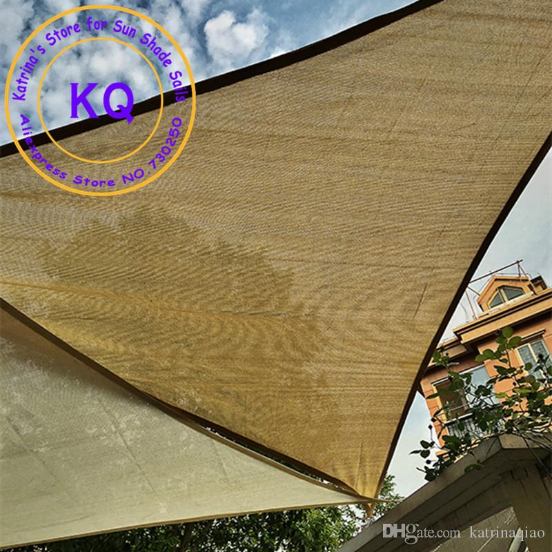 3x4x5 M Right Angle Hdpe Uv Sun Sail Shade Shade Awnings For Pool