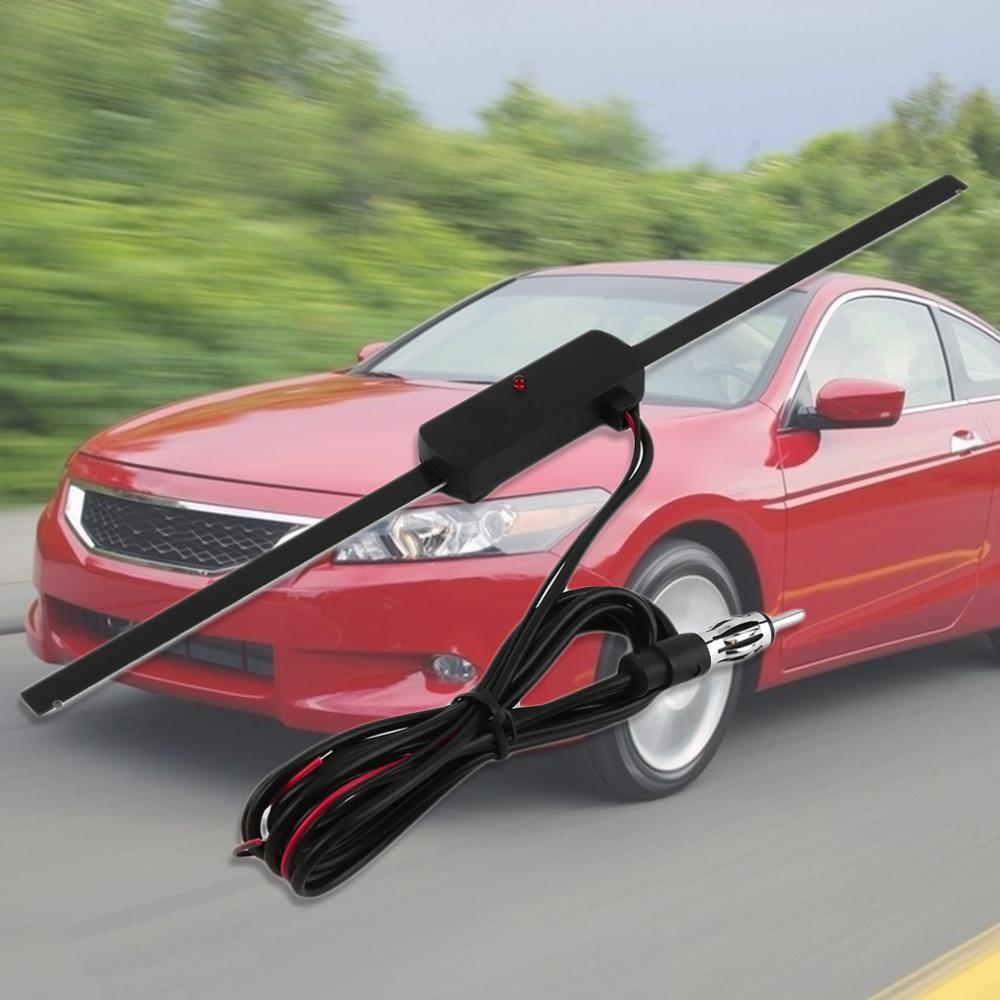 HELE V8-R LS-068 авто лобовое стекло автомобиля электронное крепление самоклеющаяся база TV FM AM радио антенна усилителя усилителя повторитель AIG