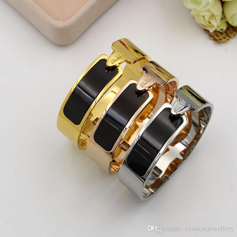 New Design Nut Nail Bracelet Armband Gold Bracelet For Women Screw