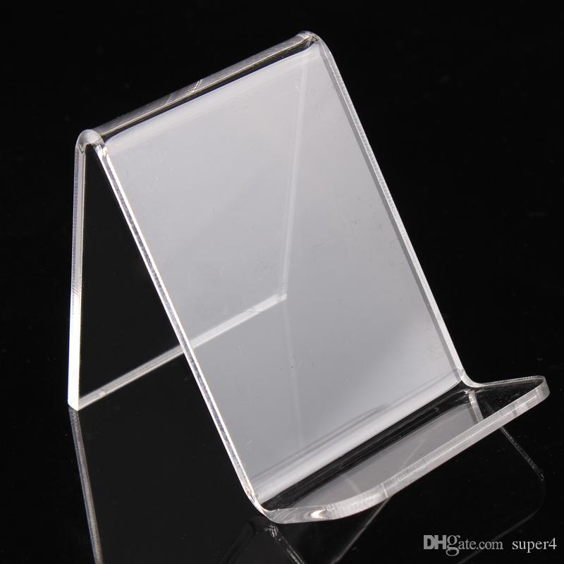 6*7.5*5.5cm clear acrylic bracelets bangles watch wallet display rack jewelry holder cellphone show stand with new nice design