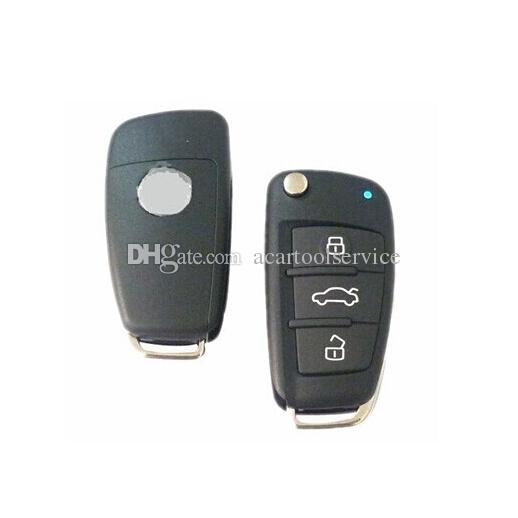 XQautopart for Audi A6 style with HCS300 chip Old Brazil Positron Car Alarm Remote Key 433.92mhz BX019A