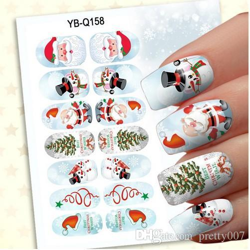 Captivating 3d Nail Art Stickers Christmas Night Light Decals Nail Stickers Nail Art  Nail Decorations Nail Tips 24 Patterns Nails Magazine Removable Wall  Stickers From ...