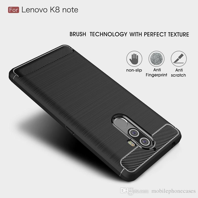Carbon Fiber Fällen Für Lenovo K8 Hinweis schwere stoßfest rüstung fall für Lenovo K8 Note abdeckung 2017 heißer verkauf