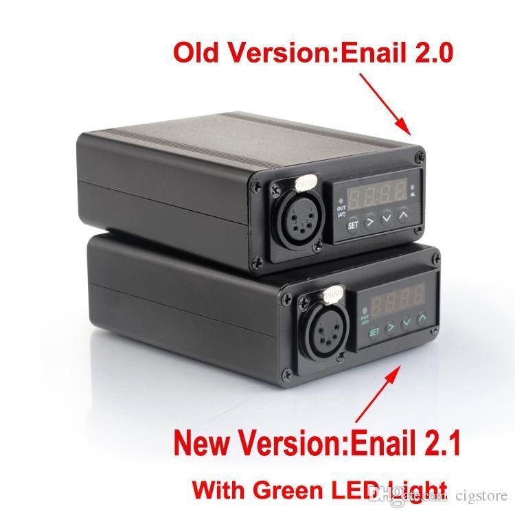 Wholesale Enail D nail Dnail electronic temperature controller box For DIY Smoker E Nail Coil with Ti Nail for glass bong