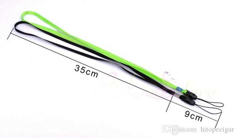 Pulseira de telefone móvel universal cinta Design Longo Lanyards Pescoço Cinta DIY Pendurar Corda Lariat Cordão Para Celular MP / 3/4 usb drive ID Card