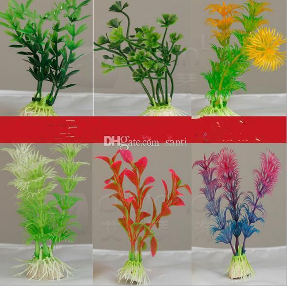 Hot 10 cm Underwater Artificial Plant Grass for Aquarium Fish Tank Landscape Decor