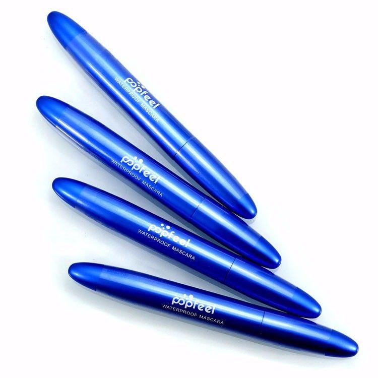 Popfeel Makeup Mascara Volume Express Ciglia finte Waterproof Cosmetics Thick Soft Mascara Black Cosmetic Tools