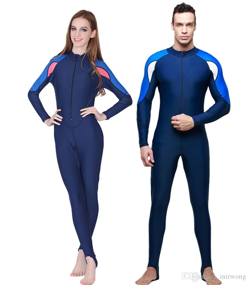 a3d0a568f622b 2019 2016 Man Woman Wetsuit Leotards Unitards Swimsuit One Piece  Professional Swimwear Full Body Bodywear Tights From Mirwong