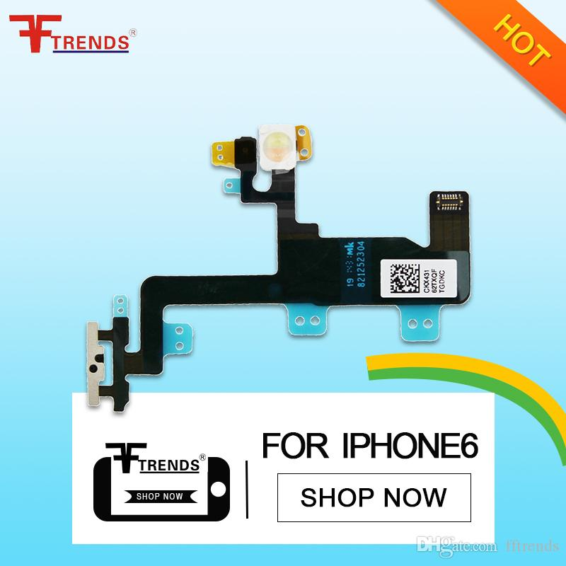 Ribbon Flex Cable Power Button On Off Volume Control Replacement For Apple Ipad 6 Air 2 Dropshipping High Quality Consumer Electronics Flex Cables