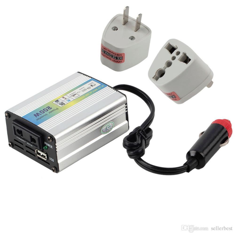 HF XUYA200 200W Camión portátil para automóvil Barco USB DC 12V a CA 220V 110V EE. UU. EE. UU. UE Super inversor inversor cargador Cargador