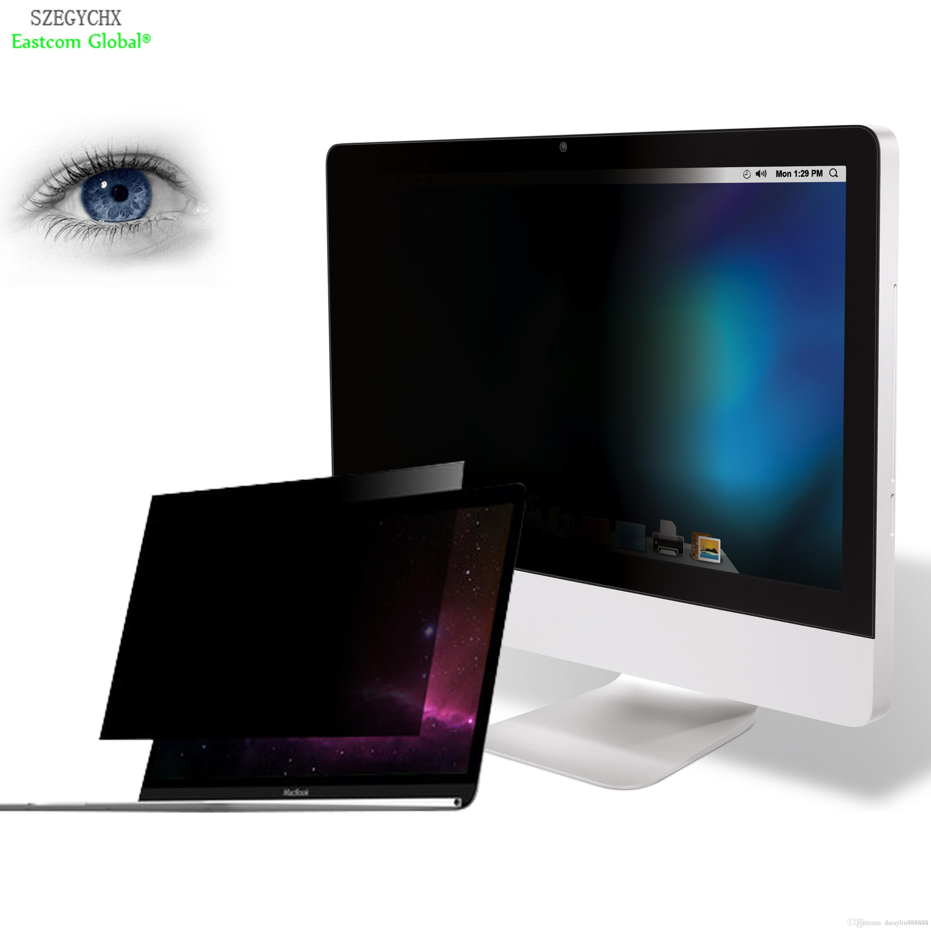 huge discount f159a 84cf8 Anti Privacy Filter Screen Protector Computer & Office Laptop Computer  Monitor 13.1 13.3 14.1 14 15 15.3 inch No glue PET material