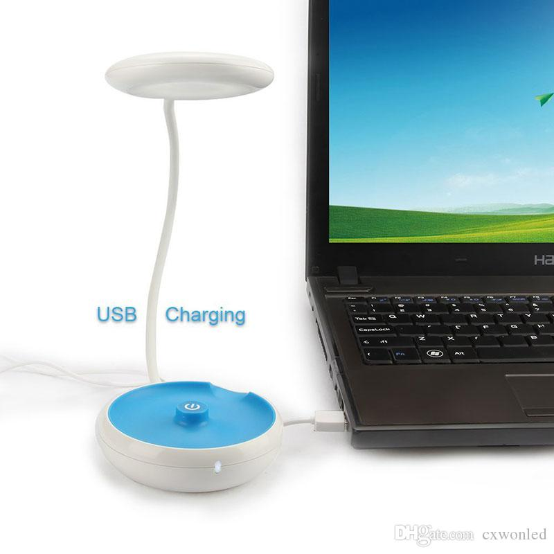 Usb Şarj Okuma ışığı taşınabilir açık led linternas küçük masa lambası anahtarı düğmesi Yaratıcı kat lambası