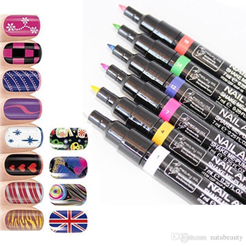 Nail Art Pen Polish Painting Design Tool Optional Drawing Gel Made ...